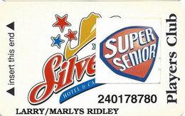 Silverton Casino - Las Vegas, NV - 3rd Issue Slot Card / CPICA 26940 / Printed Player Info / Super Senior - Casino Cards