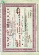 Compagnie  Des Chemins De Fer D' Aire à Fruges Et De Rimeux  Gournay à Berck Voir Signature Administrateur L . Boudenoot - Fruges