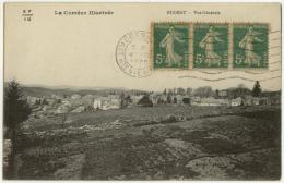 (19) 007, Bugeat, Vialanex, Vue Générale, Voyagée En 1920, TB - France