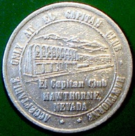 $1 Casino Token. El Capitan, Hawthorne, NV. 1980. D27. - Casino