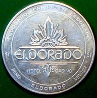 $1 Casino Token. Elrorado, Reno, NV. 1998. D27. - Casino