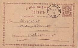 DR Ganzsache Minr.P2 K1 Zell A. Harmersbach 18.6.74 - Briefe U. Dokumente