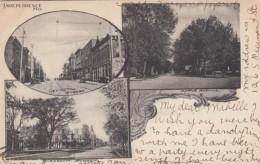 Independence Missouri, Multi-view Street Scenes C1900s Vintage Postcard - Independence