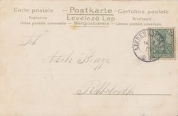 DR Karte EF Minr.55 K2 Lieberhausen 16.7.01 Nachv. Stempel - Briefe U. Dokumente