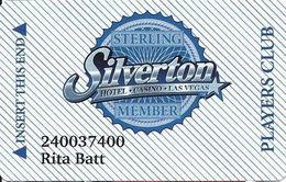 Silverton Casino - Las Vegas, NV - Slot Card / Narrow Stripes / PPC - Casino Cards