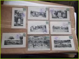 MILITARIA CAMPAGNE DU MAROC 1911 Cachet COLONNE MOGADOR Trésor Et Postes 17 OUDJDA OUDJA ENVOI DE MILITAIRE PERE 100 - Guerres - Autres