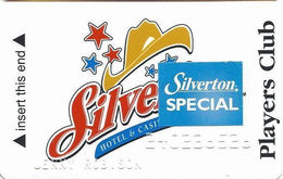 Silverton Casino - Las Vegas, NV - 3rd Issue Slot Card / CPICA 26940 / Embossed Player Info / Silverton SPECIAL - Casino Cards