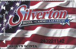 Silverton Casino - Las Vegas, NV - Slot Card / ACC Over Mag Stripe - Casino Cards