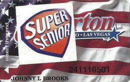 Silverton Casino - Las Vegas, NV - Slot Card / ACC Over Mag Stripe / Super Senior - Casino Cards