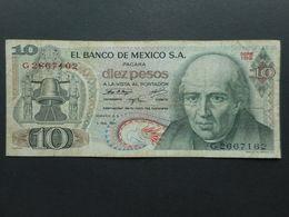 Mexico 10 Pesos 1971 - Messico