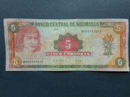 Nicaragua 5 Cordobas 1995 - Nicaragua