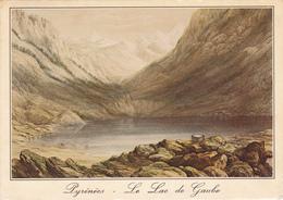 Le Lac De Gaube:lithographie Anglaise Du XIXème Siècle - Sin Clasificación