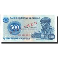 Billet, Angola, 500 Kwanzas, 1976, 1976-11-11, KM:112s, NEUF - Angola