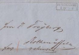 Preussen Brief R2 Pr.Oldendorf 5.10. - Preussen