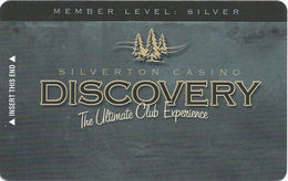 Silverton Casino - Las Vegas, NV - Slot Card BLANK - Casino Cards