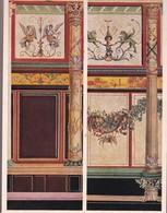 L'ORNEMENT ROMAIN. DECORATIONS MURALES DES PALAIS IMPERIAUX AU MONT PALATIN A ROME.-ART LAMINA SHEET PLANCHE-BLEUP - Afiches