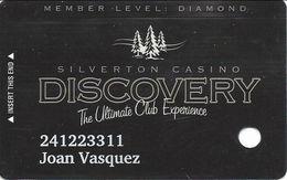 Silverton Casino - Las Vegas, NV - Slot Card - Casino Cards