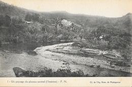 Madagascar, Un Paysage Du Plateau Central (L'Imérina) - Carte F.N. N° 1 Non Circulée - Madagascar