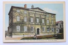 Historic Court House, Saint St. John, N.B. New Brunswick, Canada, 1944 - St. John