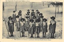 Capucins Français Aux Indes, Mission Du Sacré-Coeur Au Rajputana, Des Guides Du Pensionnat D'Armer, Carte Non Circulée - Missions