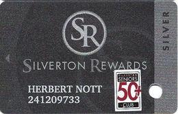 Silverton Casino - Las Vegas, NV - Slot Card / 50+ Seniors - Casino Cards