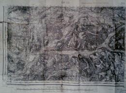 CARTES TOPOGRAPHIQUE DE GAP SUD  OUEST 05  ÉCHELLES MÉTRIQUES 50000 TIRAGE EN 1927 DE 1896 USE - Topographical Maps