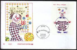 Germany Bonn 2000 / Kor Our Kids - Children / Fur Uns Kinder / Circus / FDC - Childhood & Youth