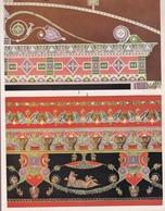 L'ORNEMENT ROMAIN-HELLENISTE. PEINTURES MURALES.-ART LAMINA SHEET PLANCHE-BLEUP - Afiches