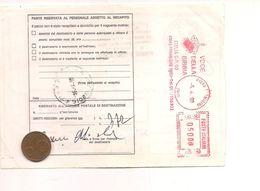 7619 ANNULLO MECCANICO ROSSO EMA VOCE DELLA BIBBIA FORMIGINE MODENA 1998 - 1946-.. Republiek