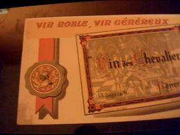 Buvard Vin Noble  Vin Genereux - Blotters