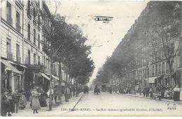 PARIS 18 Eme La Rue Ordener Belle Animation Avion - Paris (18)
