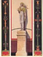 L'ORNEMENT ROMAIN-HELLENISTE. DECORATION POMPEIENE DE PAROIS ET DE CHAMBRES.-ART LAMINA SHEET PLANCHE-BLEUP - Afiches