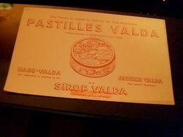 Buvard Pastille Valda Siropvalda Essence Valda Naso Valda - Buvards, Protège-cahiers Illustrés