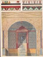 L'ORNEMENT ROMAIN-HELLENISTE. DECORATIONS MURALES.-ART LAMINA SHEET PLANCHE-BLEUP - Afiches