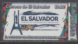 EL SALVADOR ,2017, MNH, 196TH ANNIVERSARY OF INDEPENDENCE, 1v - Stamps