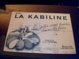 Buvard Teinture La Kabiline Estampillé A Voir - Löschblätter, Heftumschläge