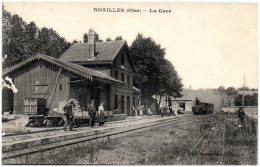 60 NOAILLES - La Gare - Noailles