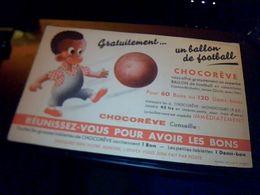 Buvard Chocolat Chocoreve - Cocoa & Chocolat