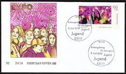 Germany Bonn 2000 / For Youth / EXPO 2000 Hannover / Jugend / FDC - 2000 – Hanover (Germany)
