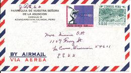 Peru Air Mail Cover Sent To USA 1971 - Peru