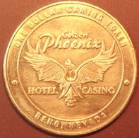 $1 Casino Token. Golden Phoenix, Reno, NV. D29. - Casino