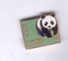 Pin's Panda Lunettes Lamy Wwf - Animali