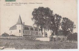 CPA Donzillac - Château Chauveau - Otros Municipios