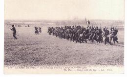 & Guerre De 1914 - Nos Drapeaux Sont à La Charge En Première Ligne - Guerra 1914-18