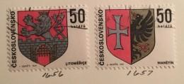 Czechoslovakia - (0) - 1969 - # 1640/1642, 1646/1649, 1652, 1654/1657 - Czechoslovakia