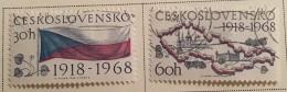 Czechoslovakia - (0) - 1968 - # 1569/1577, 1579/1580 - Czechoslovakia