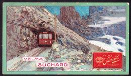 CHROMO Chocolat SUCHARD    Jungfraubahn  Alpes  Suisse       Serie 212 - Suchard