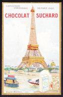 CHROMO   Chocolat SUCHARD  Exposition Universelle De Paris 1900  Palais  Palace World Expo Tour Eiffel   Serie 87 - Suchard