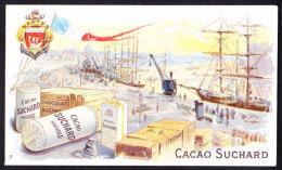 CHROMO Chocolat SUCHARD  Ports De France    Nantes Harbours  Serie 105 - Suchard