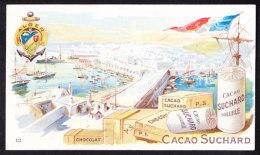 CHROMO Chocolat SUCHARD  Ports De France    Alger     Harbours  Serie 105 - Suchard